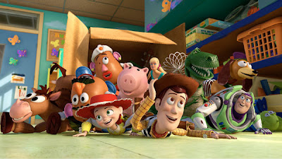 Toy Story toy pile
