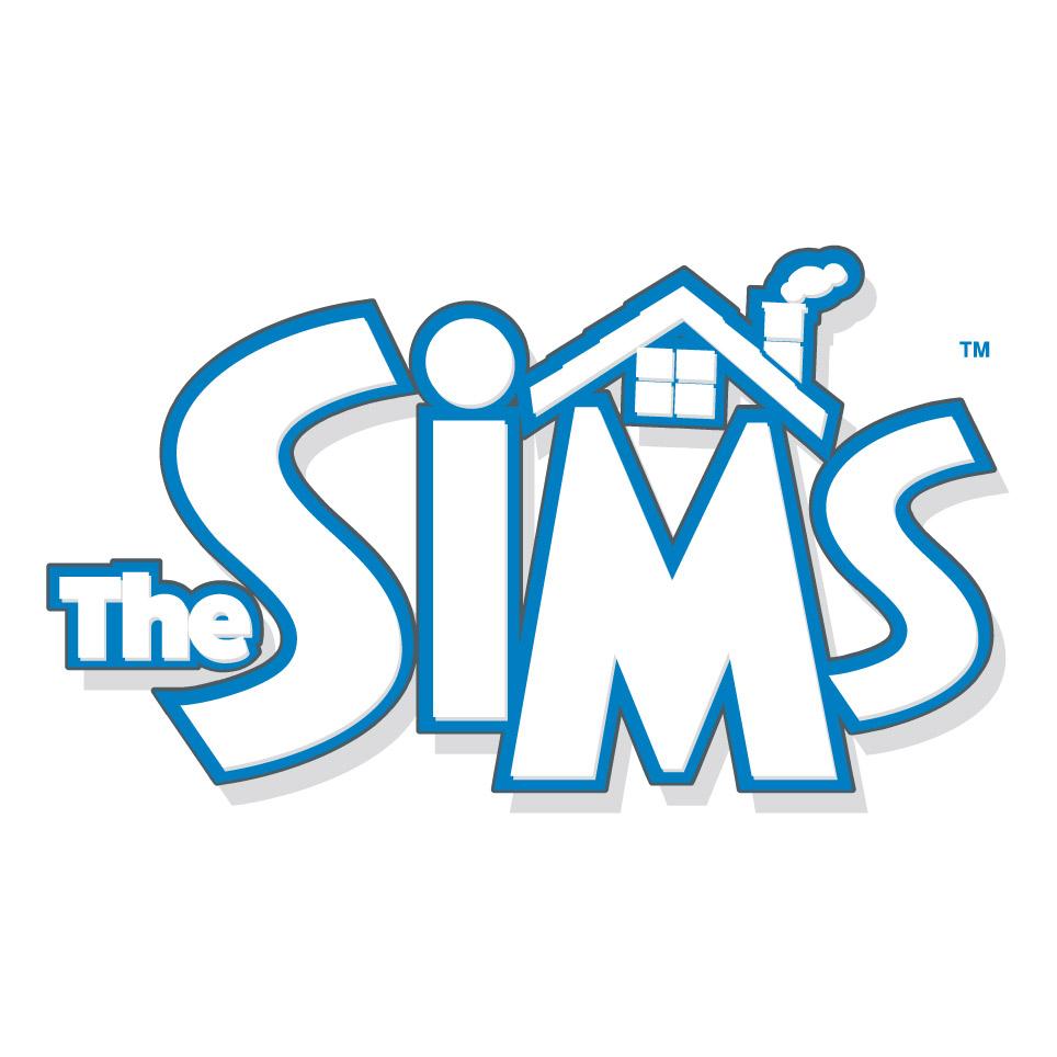 Les Sims [Jeu Vidéo] The-sims-logo