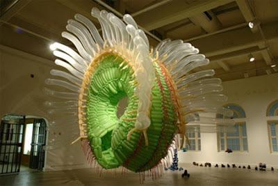تماثيل جميلة جدا باستخدام البالون-منتهى