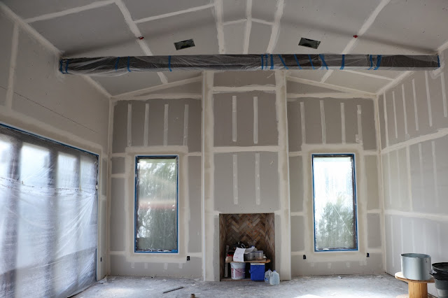taped drywall