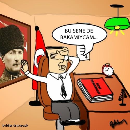 İleri Demokrasi Karikaturu