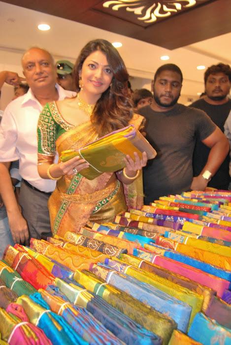 kajal agarwal launches chennai shopping mall actress pics