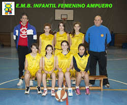 EMB Ampuero Infantil Femenino 2013/14