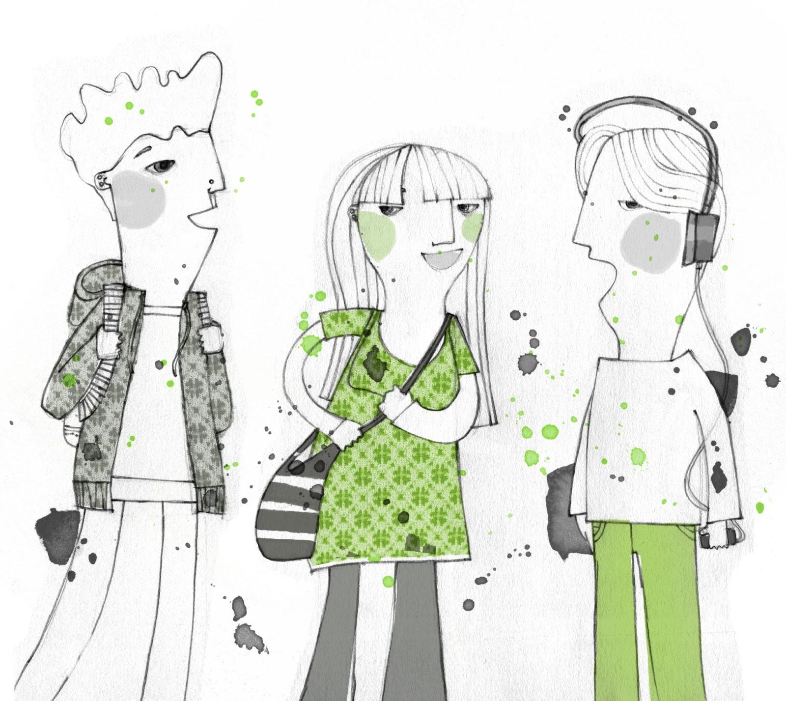 Viviana Bilotti: verde adolescente