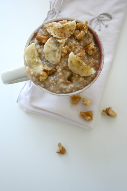 banana bread steel cut oats