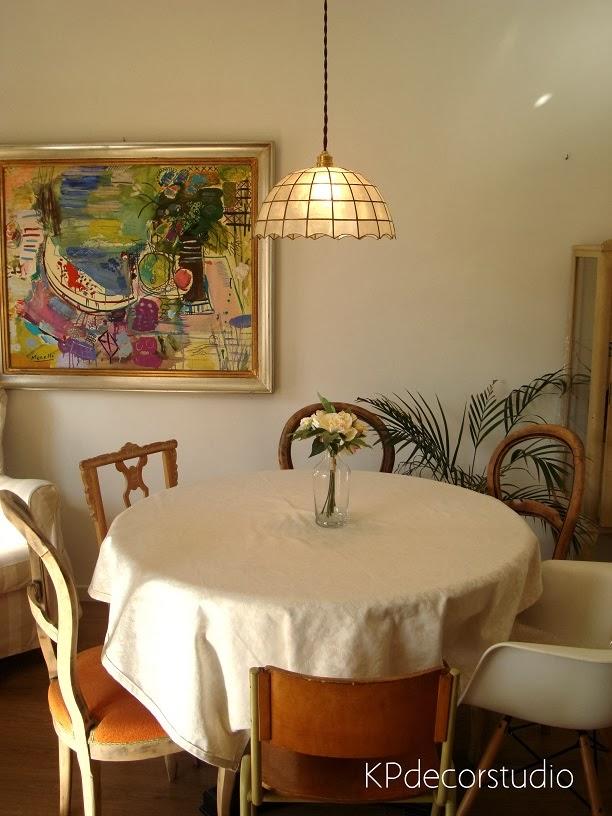 Comprar lámpara vintage online. Salón vintage. Comedores originales.