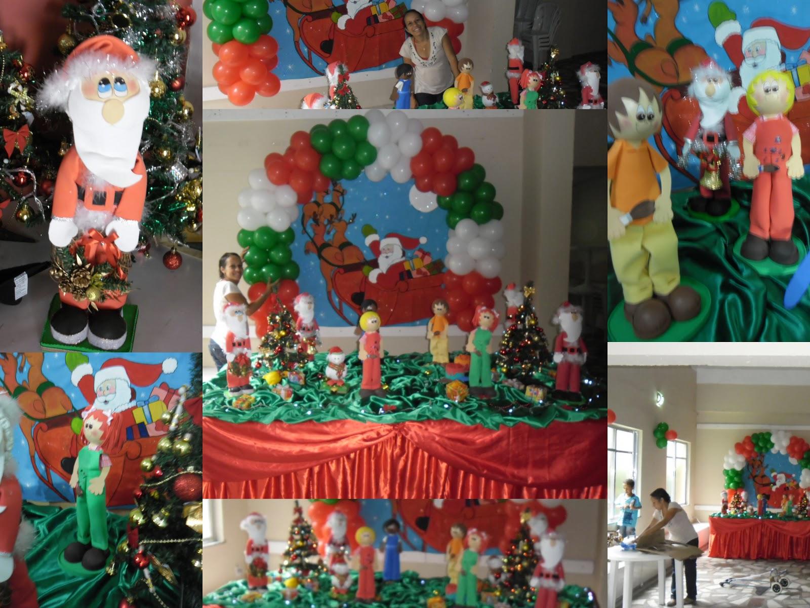 decoracao festa natalina : decoracao festa natalina:ARTES DA NANDA DA BAHIA : Decoração Natalina