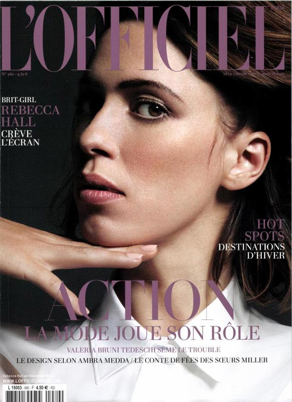 l'officiel paris november 2013
