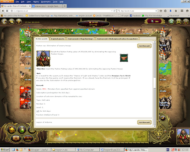 My Lands screenshot  Premium quest 2