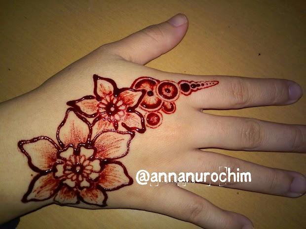 Foto Inai Jari Simple 2017 Teknik Menggambar Henna Atau Vtwctr