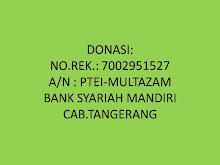 Rekening Donasi
