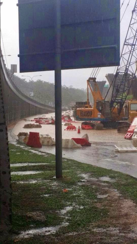 BANJIR KILAT DI BULATAN BILLION CHERAS