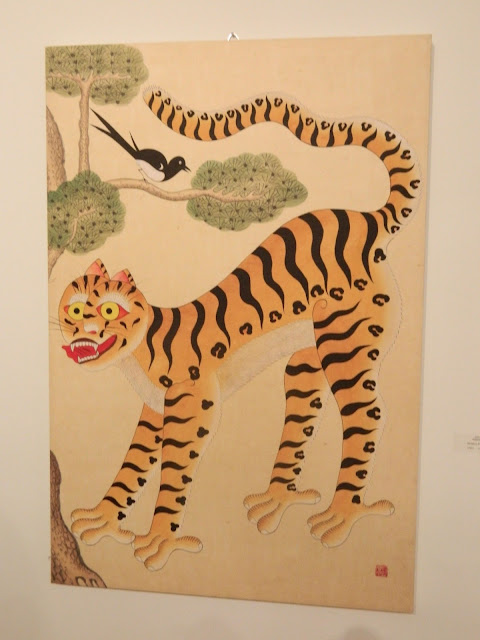 The tiger and the magpie Minhwa