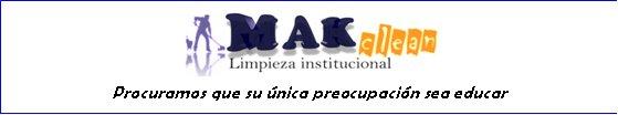 Limpieza institucional MAK Clean