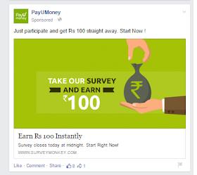 PayUMoney Survey Unlimited Trick