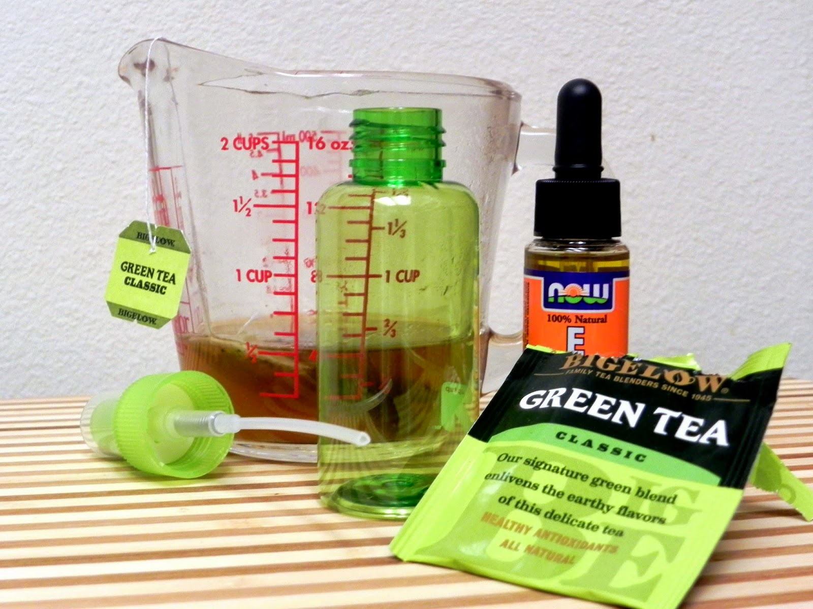 DIY Green Tea Facial Mist #shop #cbias #americastea