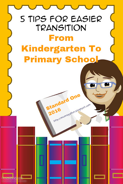 5 Tips For Easier Transition From Kindergarten To Primary School