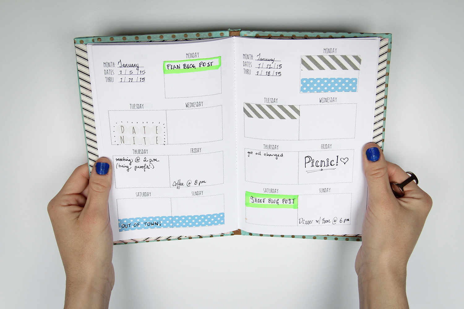 We can make anything diy weekly planner free template for Create planner online