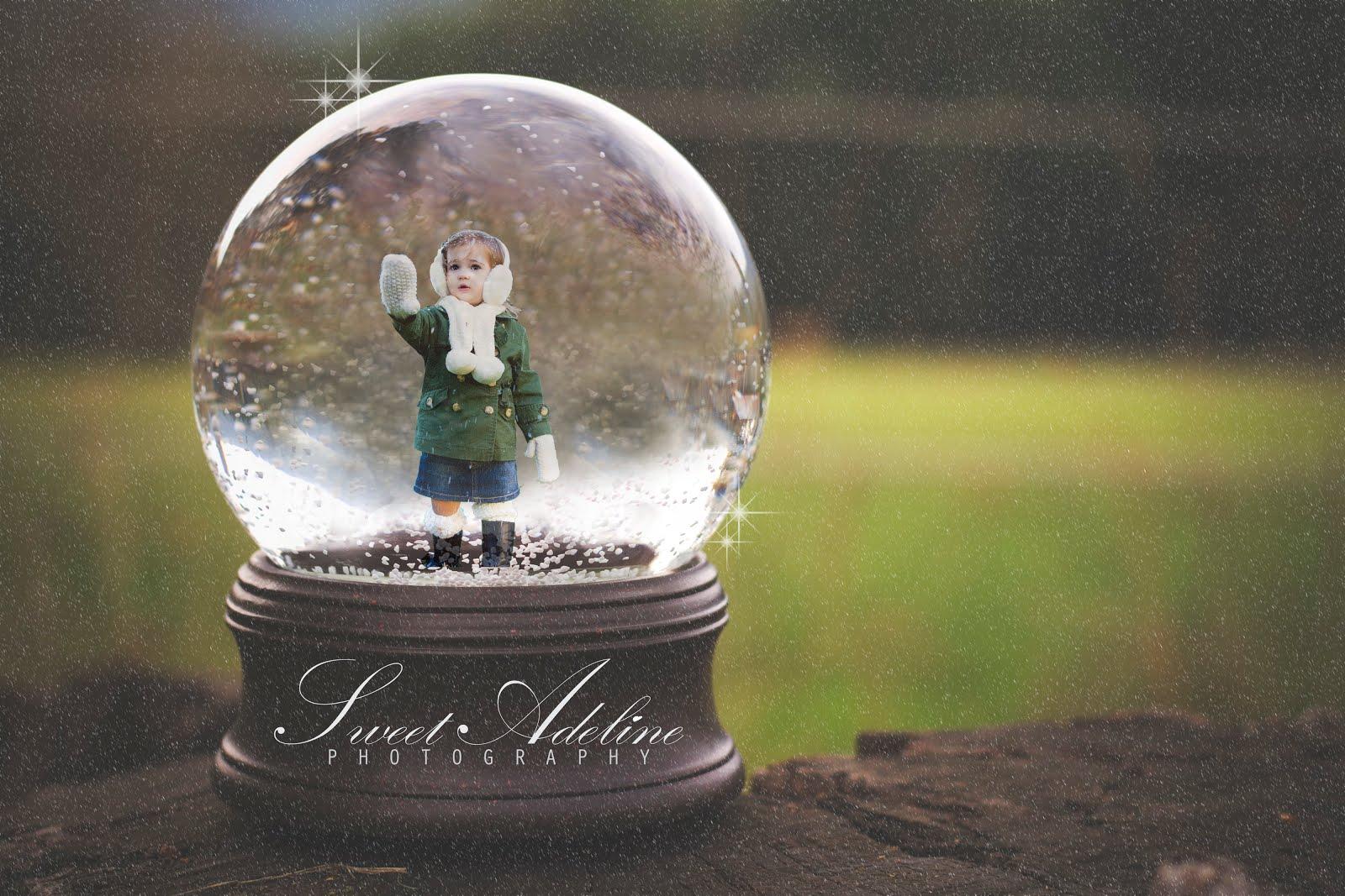 Snow Globe Brushes + Clip-Art Set ~ Photoshop Add-Ons ...