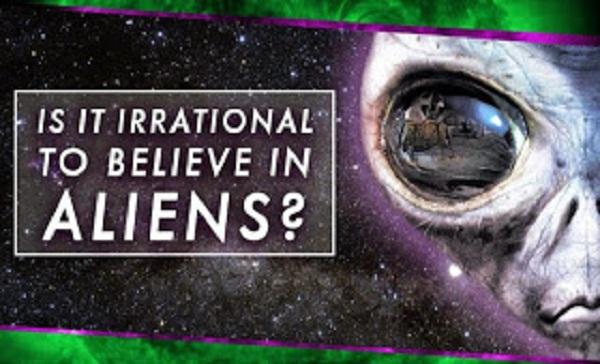Irrational to Believe in Aliens