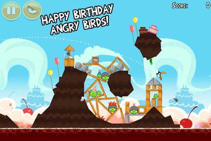Jugar Angry Birds en Android