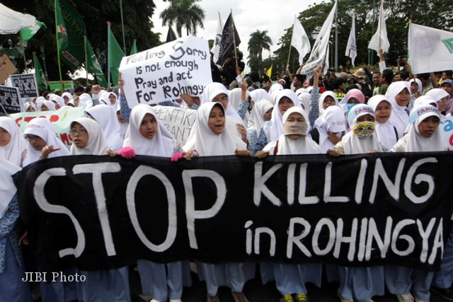 1.810 Pengungsi Rohingnya Sudah Terpenuhi  Kebetuhan Dasarnya