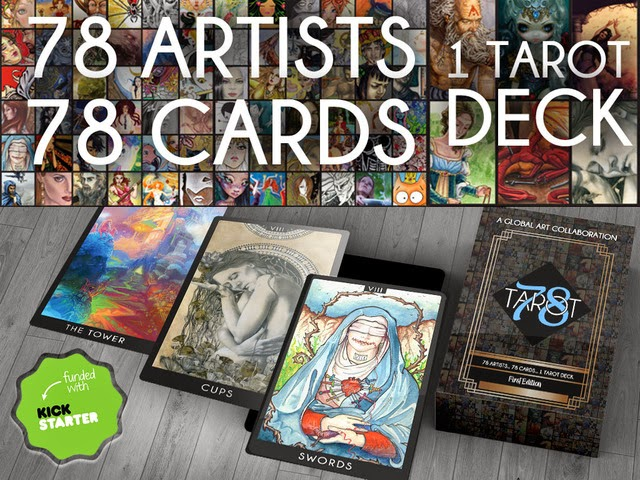 https://www.kickstarter.com/projects/1309407051/the-78-tarot-project-a-global-art-collaboration