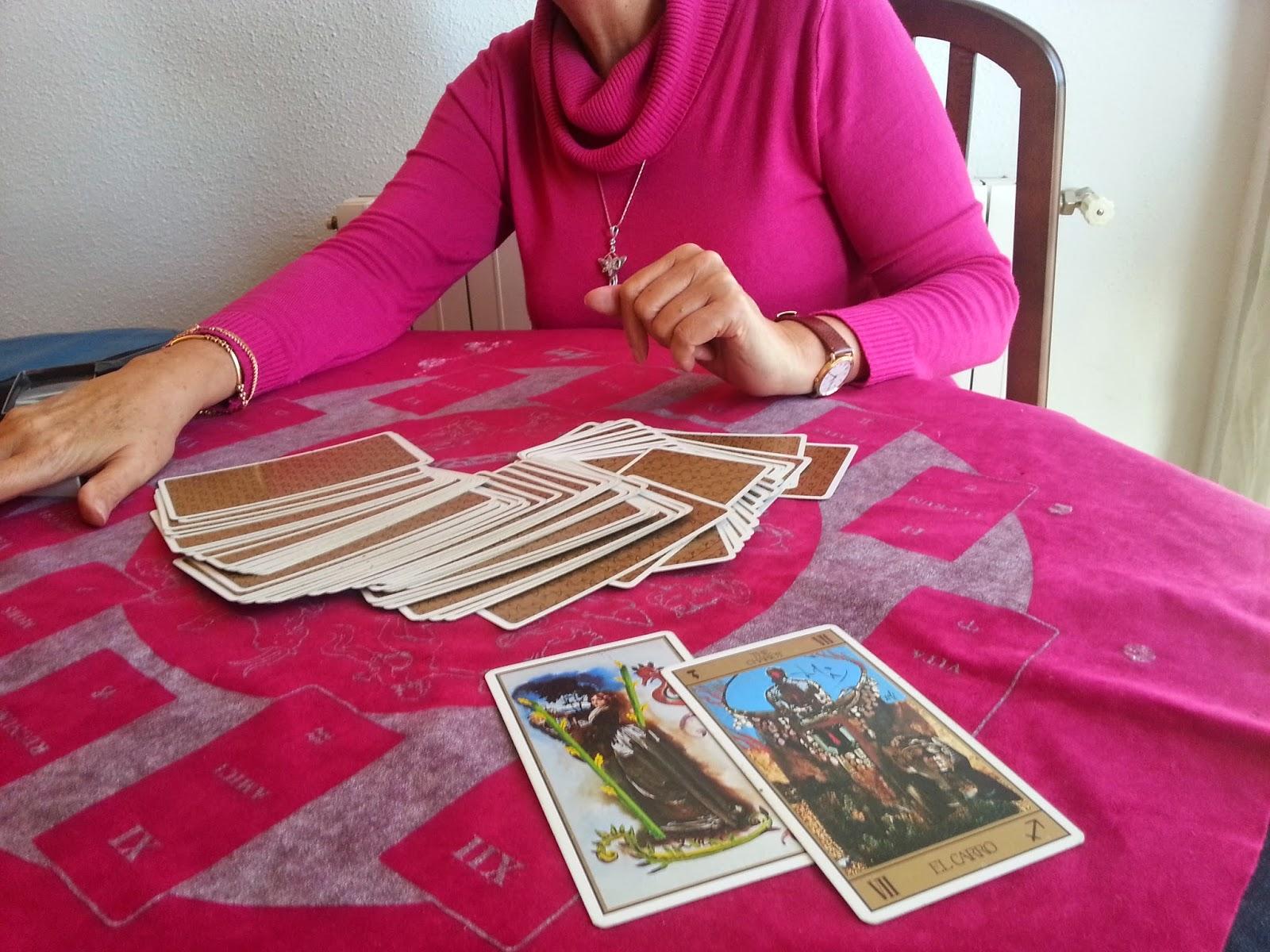 Tirada de cartas- Tarot Dali