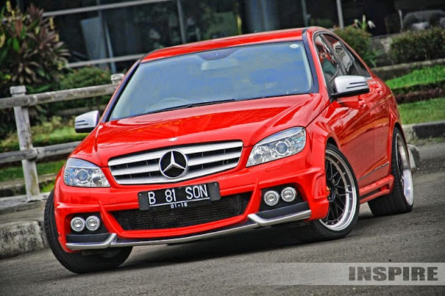 mercedes w204 wald body kit