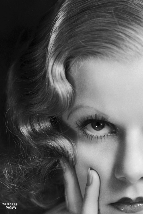 vintage portrait jean harlow