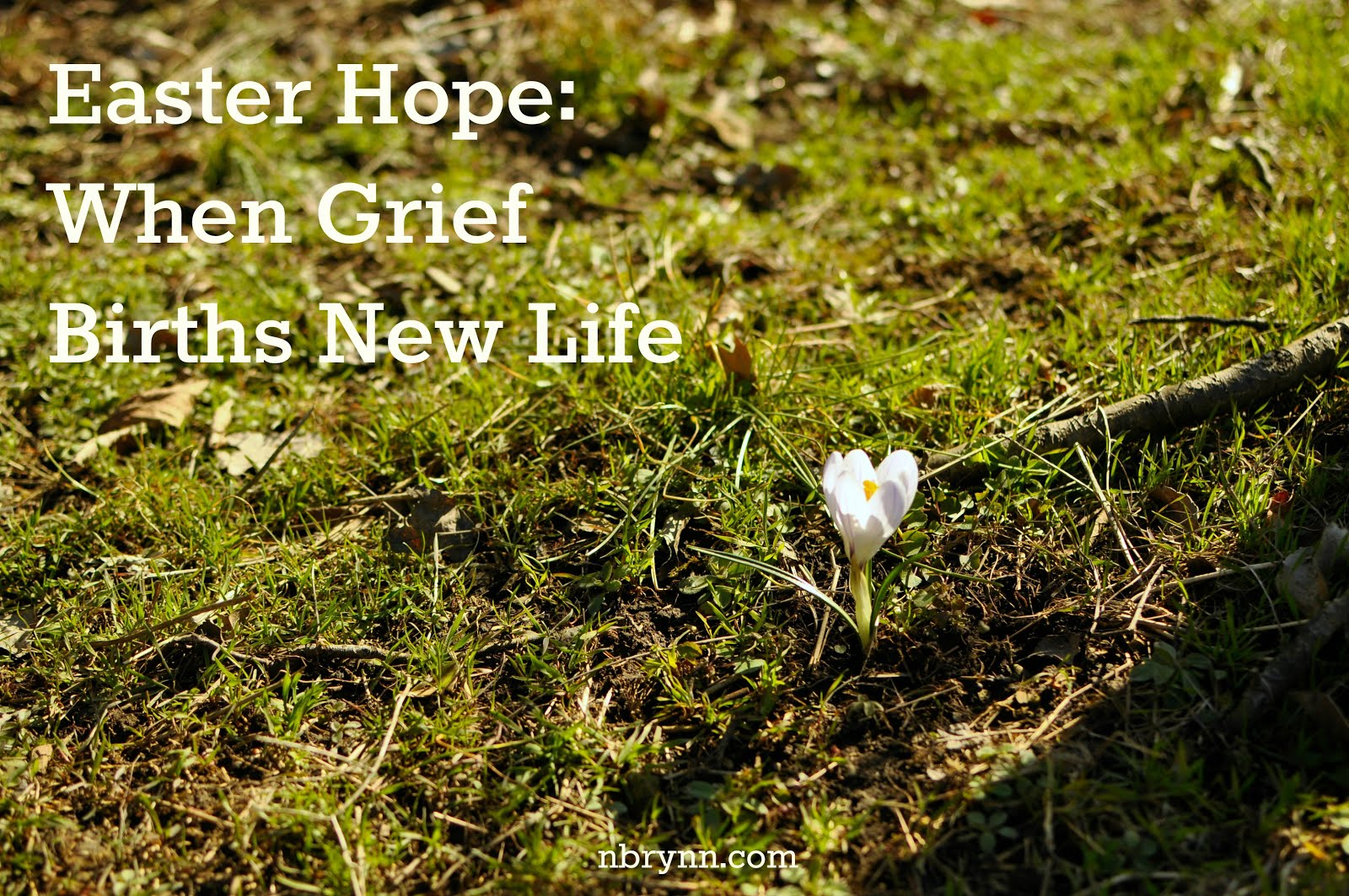Even in Grief, There is Hope