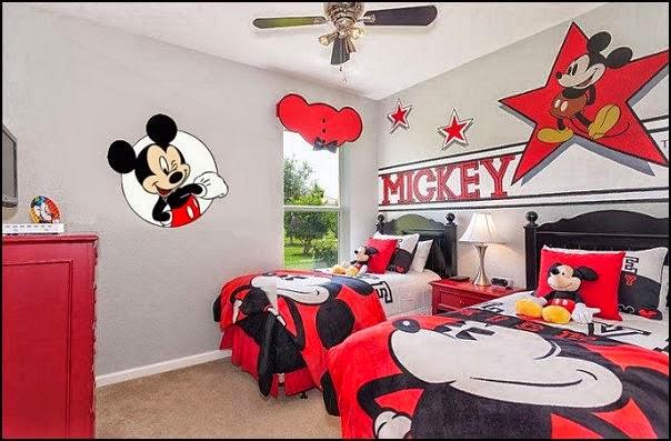 Dormitorio tema mickey mouse dormitorios colores y estilos - Dormitorio infantil original ...
