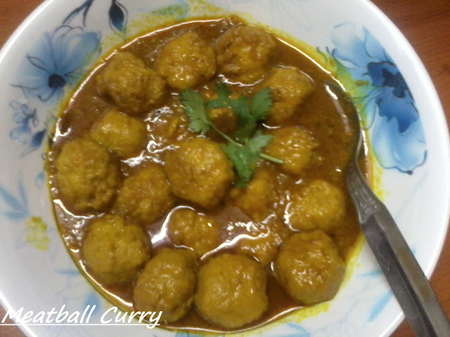 Spicy Mutton Meatball Curry-Women's Day Special