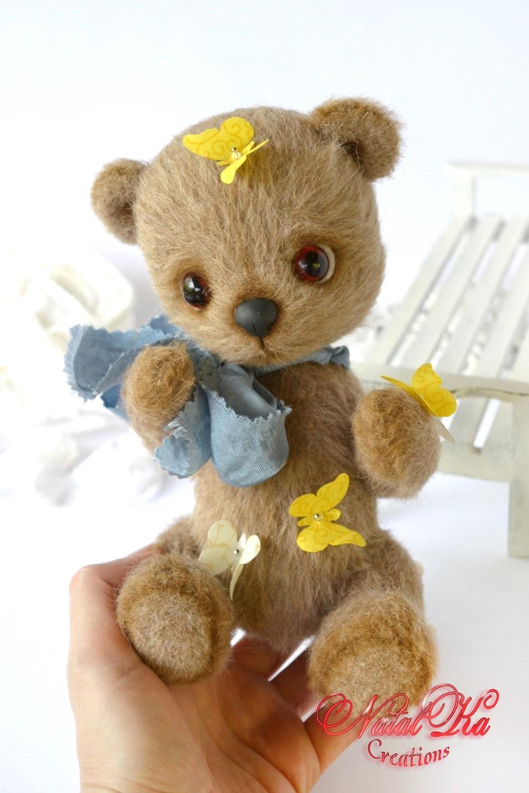 Künstlerbär, Teddybär, Bär, Sammlerbär handgemacht von NatalKa Creations.  Авторский мишка тедди ручной работы от NatalKa Creations