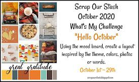 """October """"Hello October"""" Challenge"""