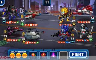 Game Android Đối Kháng »Game TRANSFORMERS: Battle Tactics