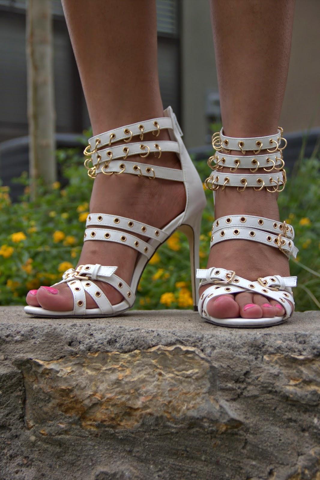 strappy heels, gladiator heels, allthingsslim , ami clubwear