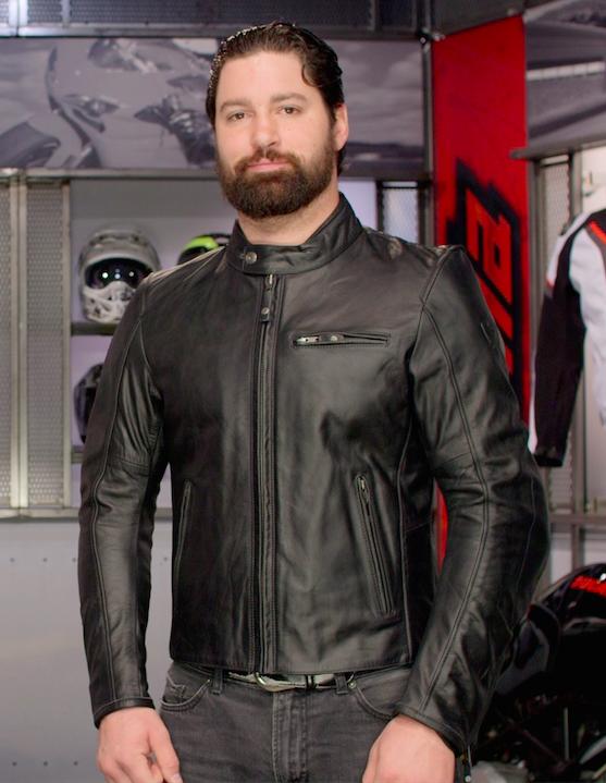REV'IT! Flatbush Vintage Leather Motorcycle Jacket