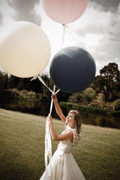 The Scarlett Slipper: Rethink Balloons at the Wedding