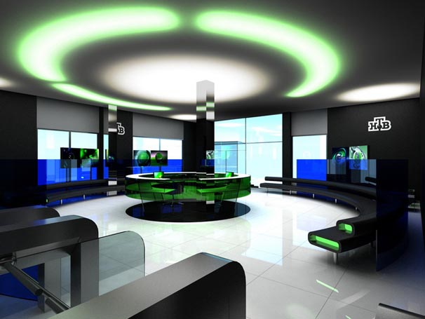 in design magz office reception lighting interior design
