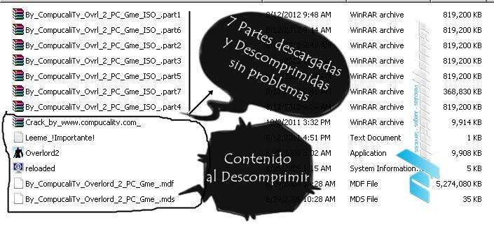 Overload 2 Descomprimido con Jdownloader