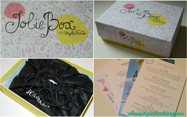 My First Jolie Box - and it's the birthday box!