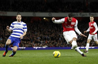 Arsenal 1 - 0 Queens Park Rangers (1)