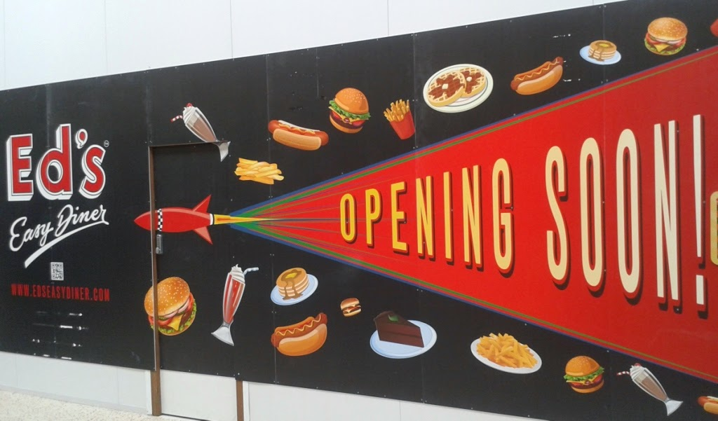 Ed's Easy Diner will be opening in The Mall Luton in May 2015. The diner's also have a new gluten free menu