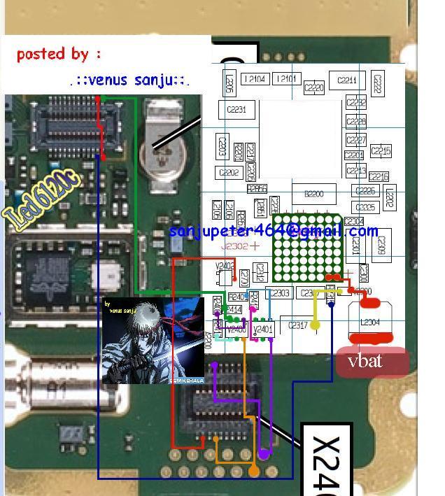 6120c lampu problem