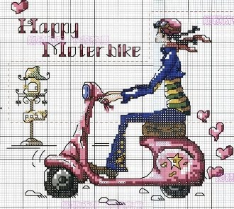 UFO - Happy Motorbike