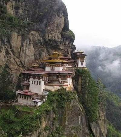 ngôi chùa Taktshang tại Bhoutan ( Trung Quốc)