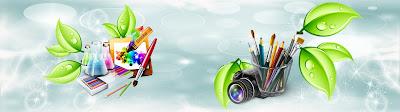 Headers e Rodapes Editaveis|ImagemDesign3D