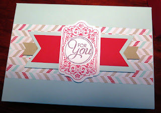 Thank You - Box  zena kennedy independent stampin up demonstrator