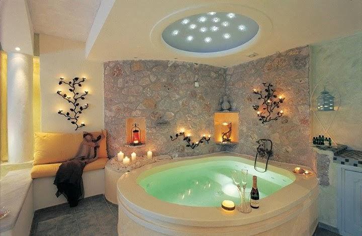 décoration salle de bain avec jacuzzi | Déco Sphair